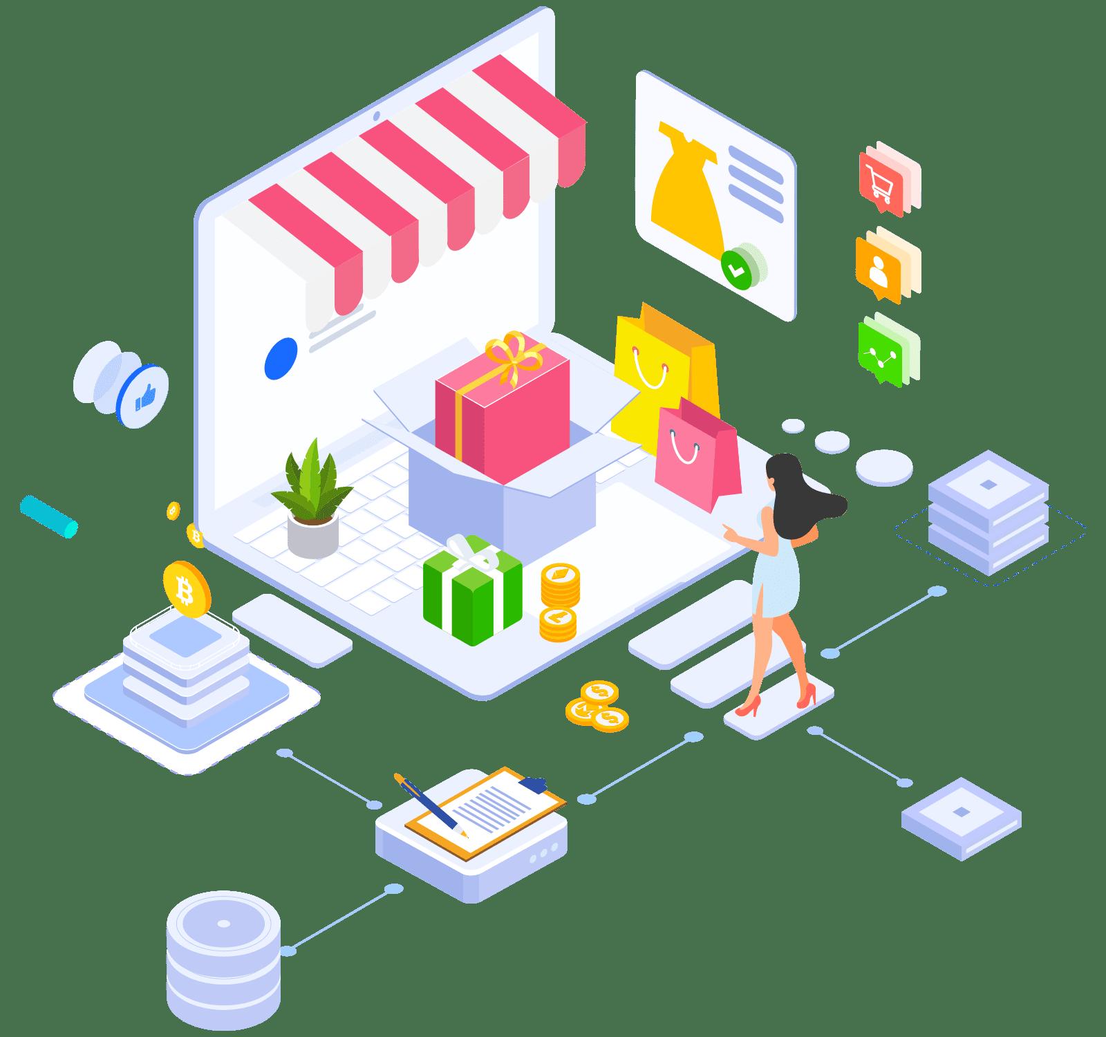 Plataforma Loja Virtual Completa, Cursos e Eventos